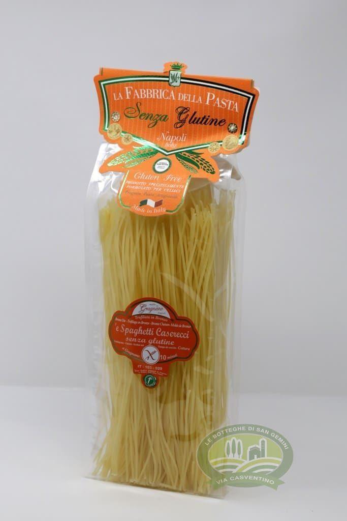 Spaghetti Caserecci Senza Glutine 8033406261012